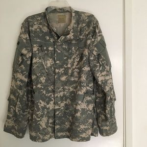 Aircrew combat camouflage USA military jacket M